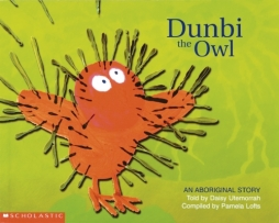 Dunbi the Owl book cover featuring an owl.